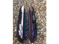 Ford Fiesta Mk6 blacked out rear lights