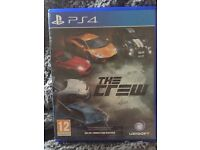 Ps4 game The Crew