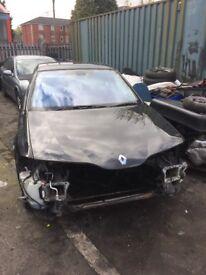 Renault Laguna breaking for spares high spec model with sat nav cd changer