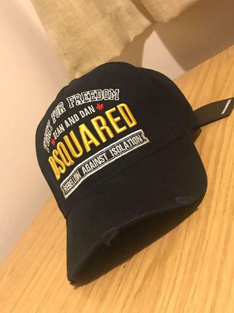 bfef3267e12db2 DSQUARED2 FIGHT FOR FREEDOM BASEBALL CAP | in ...