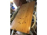 8 seat dining table with chairs
