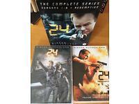 Complete 24 DVDs