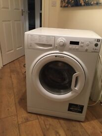 Washing machine for sale. Hotpoint. Used. Works but does need TLC (cleaning etc)