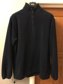 Mulberry Fleece, navy blue, size XL