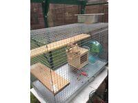 Chinchilla/degu/rat cage 90/60/45cm used but in good condition