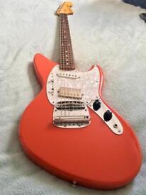 Fender Jagstang '95-'99 Fiesta Red (Designed by Kurt Cobain)