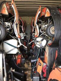 Fleet of Sodi Gt-4 Rental Hire Karts