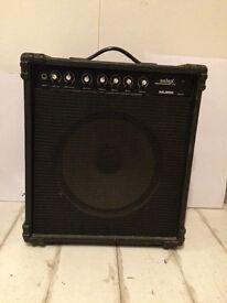 Peavy Max bass amp and Solex ML25R amp