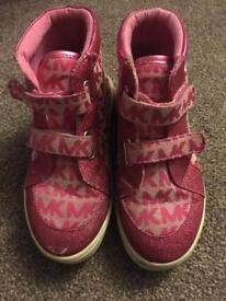 Girls Michael Kors boots - size 9.5