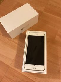 NEW Gold iPhone 6 (in package with headphones and charger)