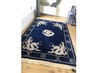 Large Chinese vintage rug