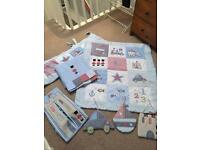 Beautiful Baby Boy Cot/Bedroom Set