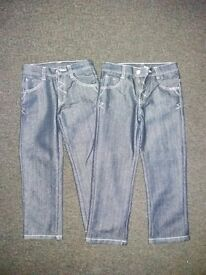 Boys Jeans. Blue Denim. 6-7 yrs old & 7-8yrs old