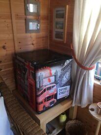 "Small refrigerator H. 20"". W.17.5"". D. 19"". VGC"