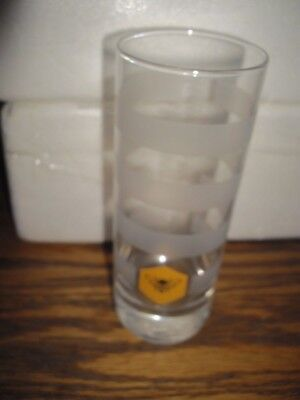 COLLECTIBLE JACK DANIELS TENNESSEE HONEY BEE HIGH BALL WHISKEY GLASS  for sale  Lincoln