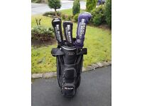 Ram Trolley Bag and 1 Big Bertha Hawkeye driver with 3 and 5 Big Bertha woods