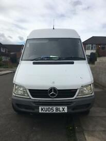 Mercedes sprinter no ford or vw LOW MILEAGE