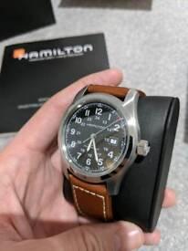 Hamilton Khaki Field Auto 42mm Watch (H70555533)