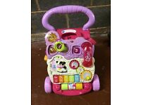 Pink Baby Walker Excellent Condition