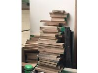 Wood Offcuts - Oak - Hardwood. Perfect for DIY, Crafts, Turning etc. Bulk Buy Offers!
