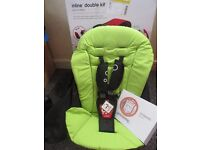 Phil and Teds 2nd seat double kit in Apple, comes with mesh, reclaim, instruction ,box.