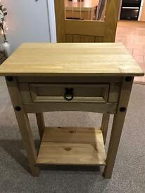 Corona One Draw Console Table