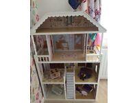 Luxury large 3 storey dolls house