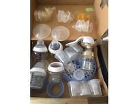 Shoebox of Feeding Bits & Pieces