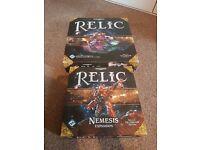 Warhammer 40,000 Relic Game + Nemesis Expansion