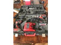 Milwaukee 18v Drill + Impacted Driver