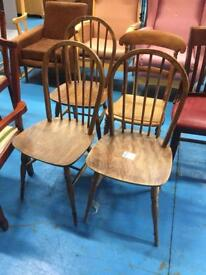 Chairs various sets of 4