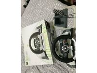 Offiical Xbox 360 Wireless Sterring wheel with forcefeedback