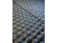 Stockmaster 18mm Rubber mats for Gym/ Horse/Cow 6'x4'. We deliver provincewide