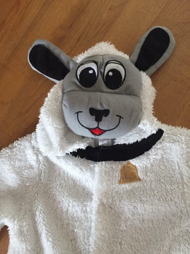 Sheep costume kids