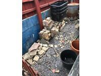 Free brick rubble