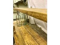 Glass Bottle Shelves