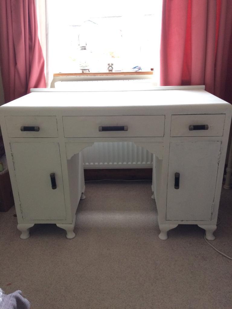 1930's wooden desk
