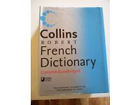 Collins Robert French Dictionary, complete & unabridged