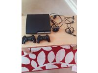 For sale Ps3 250GB console plus games