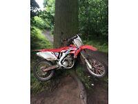 Crf 250r £1300 no offers not kx cr rm yz rmz yzf crf kxf