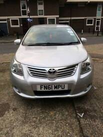2012 Toyota avensis with Pco registered