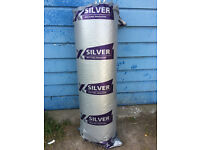 TLX Silver Multifoil Roofing Insulation Rolls 1.2m x 10m x 30mm 3 Rolls