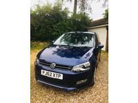 VW Polo Match 1.4 2012 (registered 2013) Blue 5 door