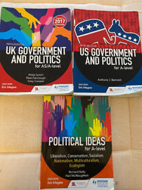 US & UK Government A leverl Course Books