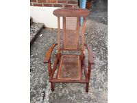 Garden chair steamer wood teak conservatory