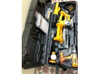 Dewalt 5 piece 18 volt tool set