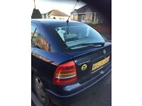 Vauxhall Astra 1.6 Very Reliable with a very low genuine miles reson for sale got a diesel car