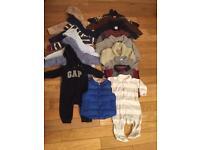 Boys 3-6 month clothes bundle