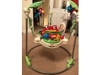 Fisher Price Rainforest Jumperoo (with original packaging)