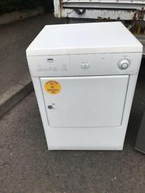 Zannussi white condenser dryer £95 guaranteed working